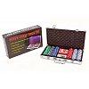 Покерный набор на 300 фишек с номиналом в кейсе. 11,5g-chips