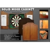 Дартс кабинет (без мишени) One80 Solid Wood Cabinet Black
