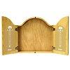 Дартс кабинет из массива дуба (без мишени) Harrows Dart Cabinet Sherwood Oak