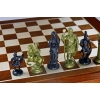 Шахматы RZYMSKIE (Римские) Intarsia, 41 см, дерево, фигуры - пластик, Gniadek 1070