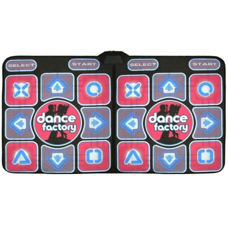 Танцевальный коврик для двоих Double Dance factory, TV и PC, 32 bit Stepmania