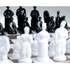 Шахматы Казацкие, пр-во Киев, пластик