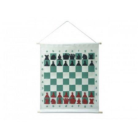 Демонстрационные шахматы 65 x 65 см (текстиль, пластик, магнитные)