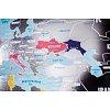 Скретч-карта мира Travel Map Silver Original (на английском)