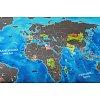 Скретч карта мира Discovery Map (укр. язык, рельеф)