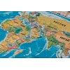 Скретч карта мира My Vintage Map (рус. язык, рельеф)