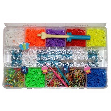 Набор Loom Bands - 2200 резинок Rainbow Loom (Рейнбоу Лум)