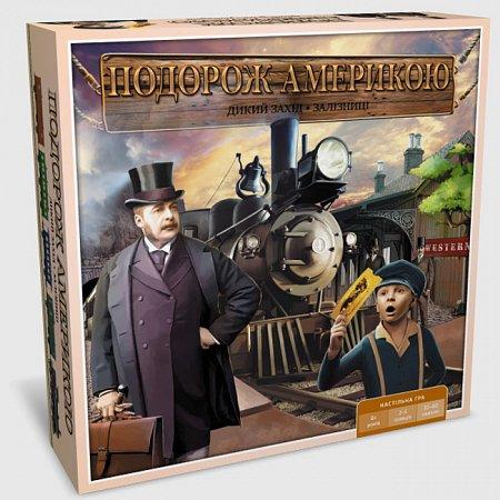 Дикий запад. Железные дороги (Подорож Америкою) | Настольная игра от Ариал