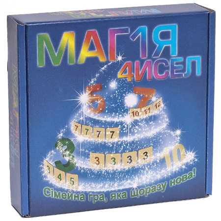 Настольная игра Магия чисел. Аналог Руммикуб (Rummikub) от Ариал