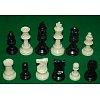 Дорожные шахматы Midi в тубусе, поле винил 43 x 43 см, фигуры пластик
