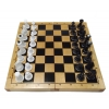 Шахматы Люкс, 36 x 36 см (доска дерево, фигуры пластик)
