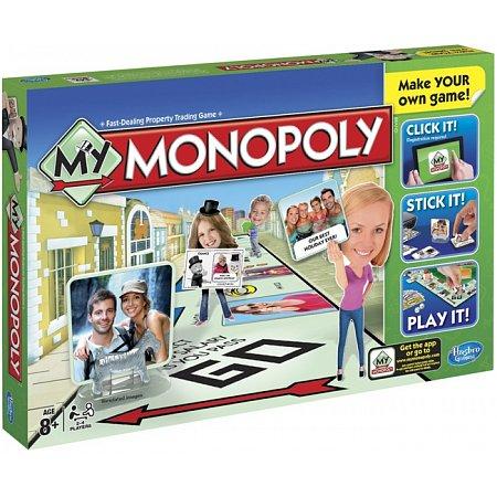 Настольная игра Моя Монополия -  Hasbro A8595