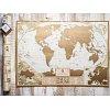 Скретч карта мира My Antique Map (англ. язык)