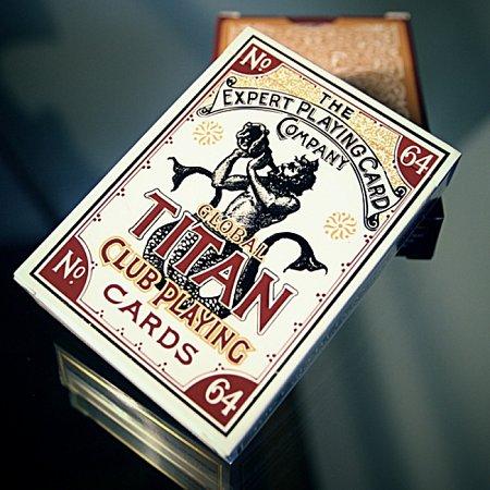 Карты Global Titan Classic Gold от Expert Playing Card Company