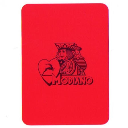 Подрезная карта Modiano Plastic Cutting card, Poker Size