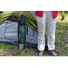 Самонадувающийся коврик KingCamp Base Camp XL (KM3559) Wine red