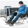Шезлонг KingCamp ALU LEISURE CHAIR (KC3919) Black