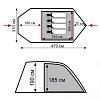 Кемпинговая палатка Tramp Baltic wave TRT-072.04 (мест: 4)