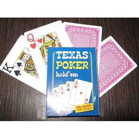 Пластиковые карты Texas Poker, Jumbo Index