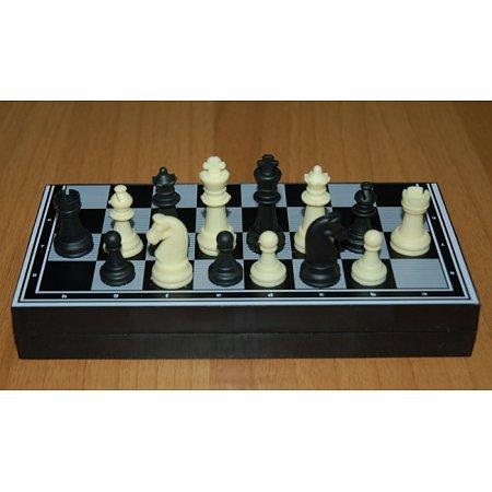 Шахматы дорожные магнитные, 23 x 23 см (пластик)
