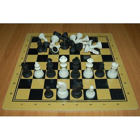 Шахматы Школа-2, 30 x 30 см (доска МДФ, фигуры пластик)