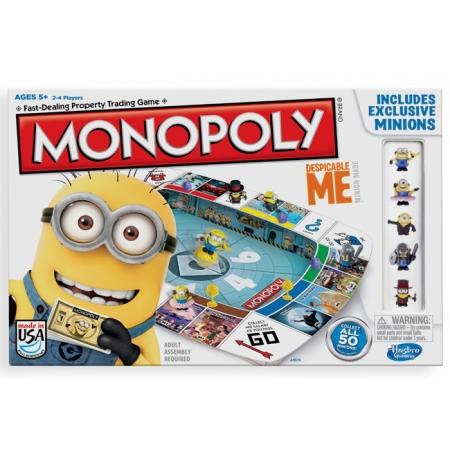 Монополия для детей Миньоны (Гадкий Я) | Monopoly Minion. Hasbro A2574