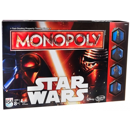 Монополия Звездные войны   Monopoly Star Wars. Hasbro B0324