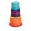 Мини пирамидка, набор для игры с водой, Battat (BX3123GTZ)