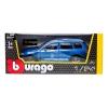 Модель автомобиля Volkswagen Touareg, синий металлик, 1:24, Bburago, синий (18-22015-1)