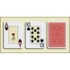 Modiano Texas Poker, purple - Профессиональные пластиковые карты