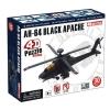 4D Master - Объемный пазл Военный вертолет AH-64 Black Apache (26300)