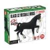 4D Master - Объемный пазл Лошадь тяжеловоз черная (26526)