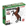 4D Master - Объемный пазл Скачущая коричневая лошадь (26459)