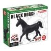 4D Master - Объемный пазл Черная лошадь (26481)