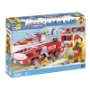 Конструктор COBI Пожарная машина в аэропорту, 420 деталей (COBI-1467)