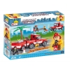 Конструктор COBI Пожарно-спасательная команда, 200 деталей (COBI-1463)
