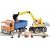 Конструктор COBI Самосвал и экскаватор, 400 деталей (COBI-1667)