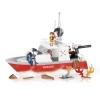 Конструктор COBI Спасательный катер, 250 деталей (COBI-1464)