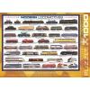 Пазл Eurographics Современные локомотивы, 1000 элементов (6000-0091)
