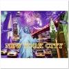 Пазл Ravensburger Разноцветный Нью-Йорк, 1200 элементов. Светящийся (RSV-161812)