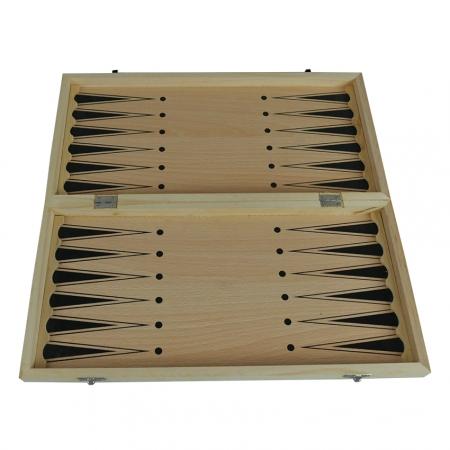 Нарды 39 х 39 см, бамбук (пр-во Китай)