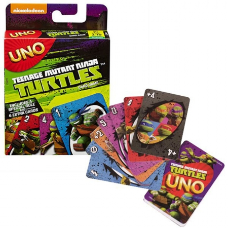 Уно Черепашки Ниндзя - карточная игра (UNO Ninja Turtles)