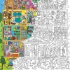 """Плакат-раскраска """"Супер School"""" от ОKroshka (84 x 60 см)"""