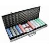 Покерный набор на 500 фишек без номинала в кейсе. УЦЕНКА