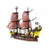 Конструктор BRICK 308 Пиратский корабль 870 деталей