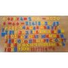 Набор магнитный 0703 EUR  рус/англ/укр, буквы, цифры, математические знаки