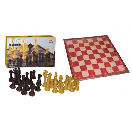Шахматы магнитные, 28 см (пластик)