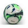 Мяч футбольный №5 CORD JOMA J-2-G (№5, 5 сл., сшит вручную, белый-салатовый-синий)