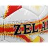 Мяч футбольный №5 PU ламин. ZEL ZEL-01-1 белый-желтый-красный (№5, 5 сл., сшит вручную)