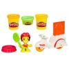 Доставка пиццы - набор с пластилином Play-Doh Town, Play-Doh, белый моторолер, B5959-2